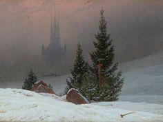Winter Landscape by Casper David Friedrich (c1811)
