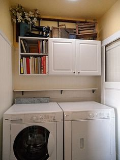 Small laundry room, great potential.