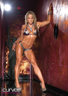 With one of the hottest bodies in the fitness industry, Monica Brant spends a lot of time working out to tone her killer curves.