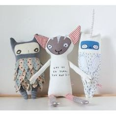 � Softie Making Tutorials   How to Make Cute Plushies   Free Sewing Patterns �