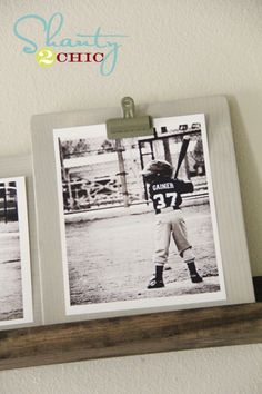 DIY Clipboard Photo & Picture Display Frame for $5