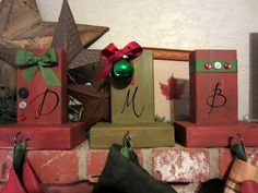Homemade stocking holders