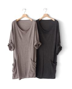 Luxe Merino Wool Sweater dress. Size up a Briar, lengthen, add sleeve tabs and figure out commodius pockets...