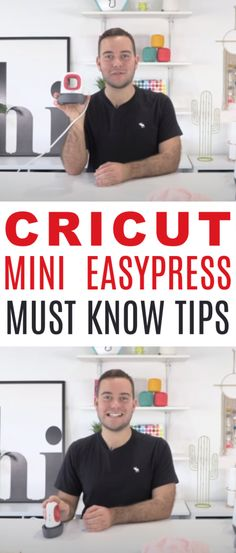 Don't be fooled  into thinking that since the Mini EasyPress is small, it's not powerful. You can do a lot with this little machine! Check out our Cricut Mini  EasyPress Must-Know Tips below! #cricut  #diecutting #diecuttingmachine #cricutmachine #cricutmaker #diycricut  #diycricutprojects #cricutideas #cutfiles #svgfiles #diecutfiles #cricutideas  #diycricutprojects #cricutprojects #cricutcraftideas #diycricutideas #easypress
