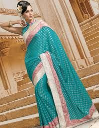 Banarasi Sarees used used to have designs with original gold and silver thread and one manufacturer used to take even an year to create one saree.