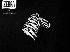 Zebra & negative space(s) Logo by Srdjan Kirtic