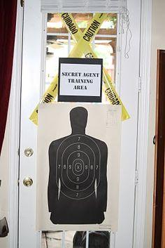 secret agent/spy training