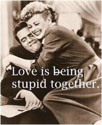 Love is being stupid together. -Paul Valéry #quote