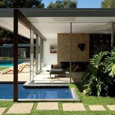 Vidal Sassoon's house - Bel Air