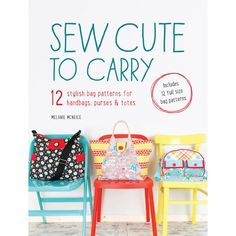 Sew Cute to Carry with FREE eBook  #quilting