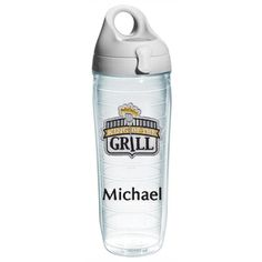 King of the Grill Personalized Tervis Water Bottle