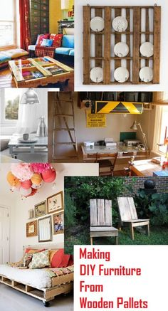 DIY Projects: Creating Furniture From Wooden Pallets pallet idea, wooden pallets, diy projects
