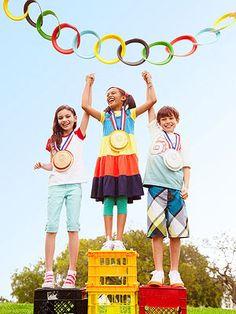 Wacky olympics party