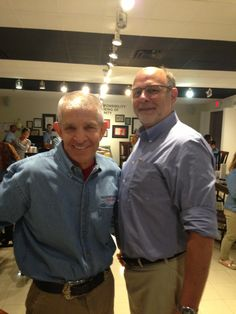 "Mattress Mack and Paco Underhill, writer of ""Why We Buy,"" came to educate the employees at Gallery Furniture."
