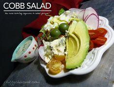 Low carb keto Cobb Salad cures low carb salad fatigue!