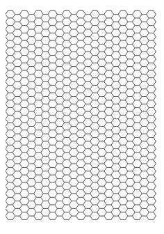 Free hexagon quilt templates printable party invitations for Hexagon templates for quilting free