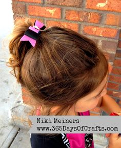 Easy hair bow olyfun