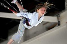 Take a trapeze class