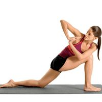 Excercises to help strengthen muscles around the knee and elliminate knee pain