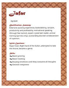 Jafar's Resume