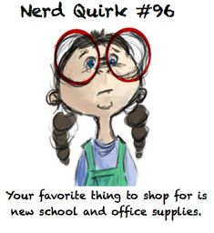 I LOVE office supplies!