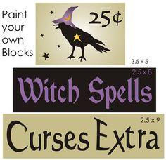 free primitive stencils | Primitive Stencils-Wiccan-Witch's Broom Magic Stencil