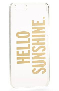 kate spade new york 'hello sunshine' iPhone 5c case | Nordstrom