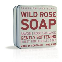 Wild Rose Soap from The Scottish Fine Soaps Company.