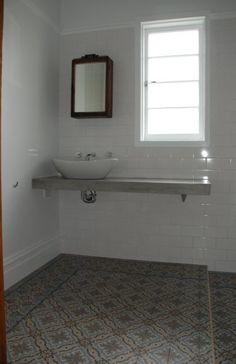 Vloeren on pinterest cement tiles art nouveau and tile - Saint maclou tegelcement ...