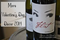 Minerva's Garden:  More Valentine's Decor 2014