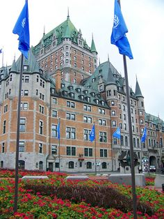 Chateau Frontenac - Quebec City, Quebec, Canada