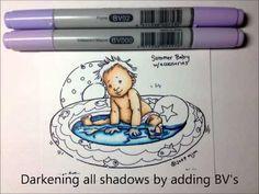 copic mecolour, color water, digi colour, copic video, mecolour water, copic oz, copic marker, coloring, cards