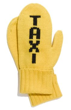 Taxi - Kate Spade mittens