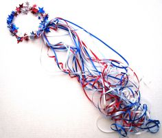 Tutorial: Quick and Festive 4th of July Crowns