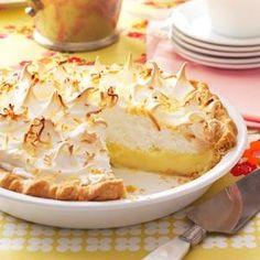 Favorite Coconut Meringue Pie Recipe