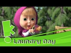 Masha & the Bear - Laundry Day