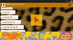 musica clase, la banda, kevin karla, banda lyric, lyrics, spanish class, spanish version, spanish song, lyric video