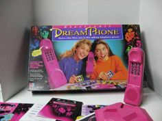 Dream Phone.  I know where he likes to hang out ... he's not at the mall...! I MISS THIS!!