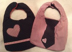 these are adorable! Valentines day bibs.