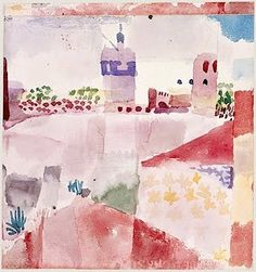 Tunisia, 1914 by Paul Klee