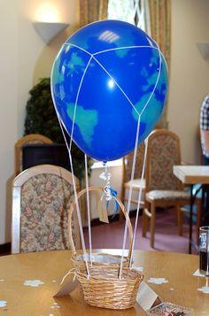 hot air balloons, themed parties