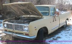 4600.JPG - 1973 International Harvester truck, Model 1110, 54,801 miles, Inactive for approximately 10 years, S...