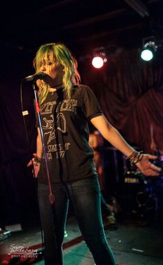Jenna McDougall of Tonight Alive The Other Side Tour Nashville  Tn Tonight Alive The Other Side Tour