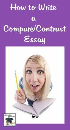 Comparison Contrast Literary Essay  authorSTREAM  Compare contrast essay powerpoint