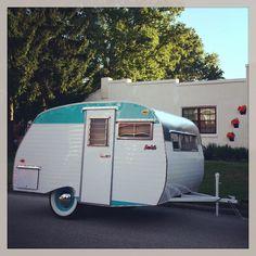 1964 Serro Scotty - she's finally home where she belongs! At Retro Roadmap HQ. http://retroroadmap.com/2011/01/19/this-serro-scotty-vintage-camper-is-retroroadmap-worthy/