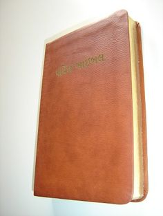 Gujarati Holy Bible Easy-to-Read Version / Bonded Leather Bound with Golden Edgea