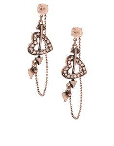 Dangling cupid earrings :)