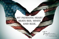 red white and blue hearts