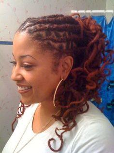Short Dreadlock Hairstyles for Black Women