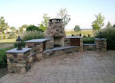 Custom Patio Outdoor Fireplace Newcreationshomeimprovements.com